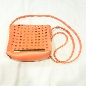 NWOT STEVE MADDEN Laser Cut Cross Body Bag